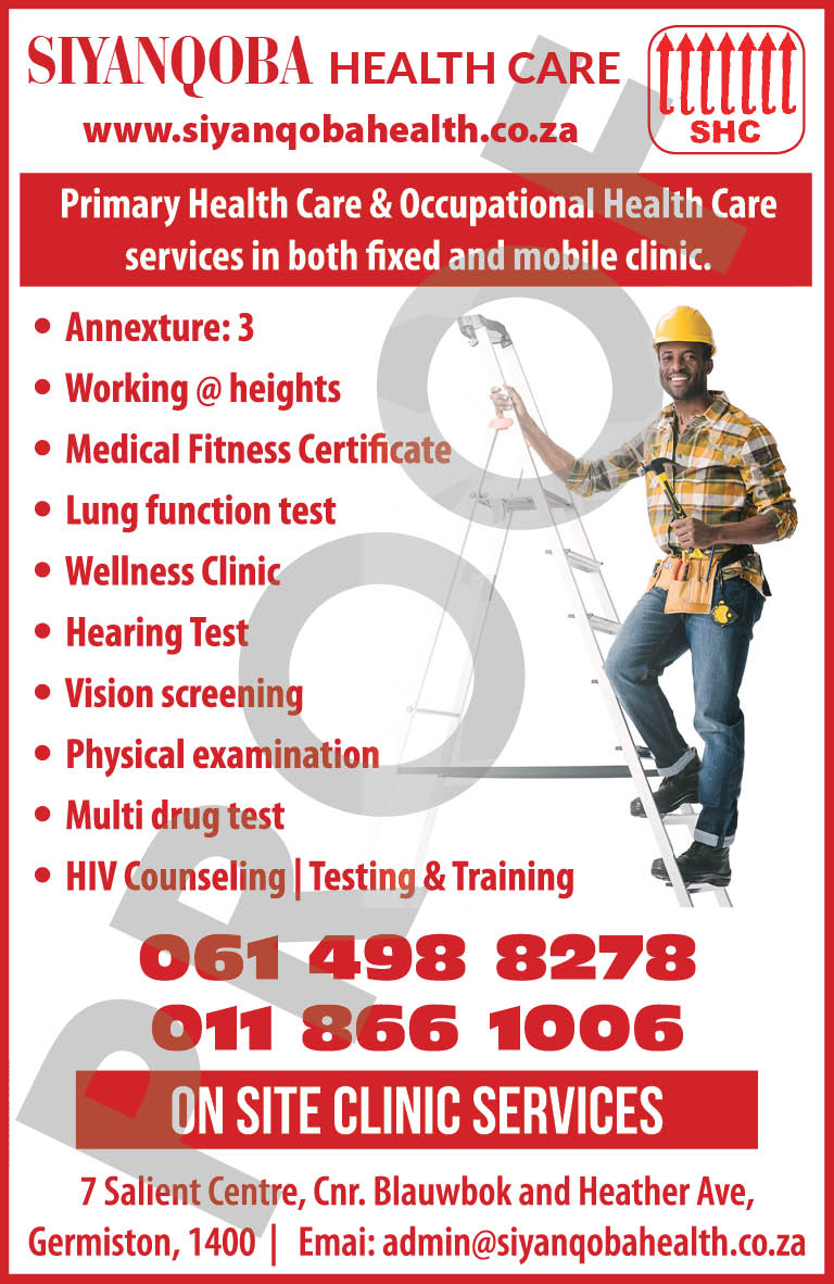 ADVERT FOR SIYANQOBA HEALTH